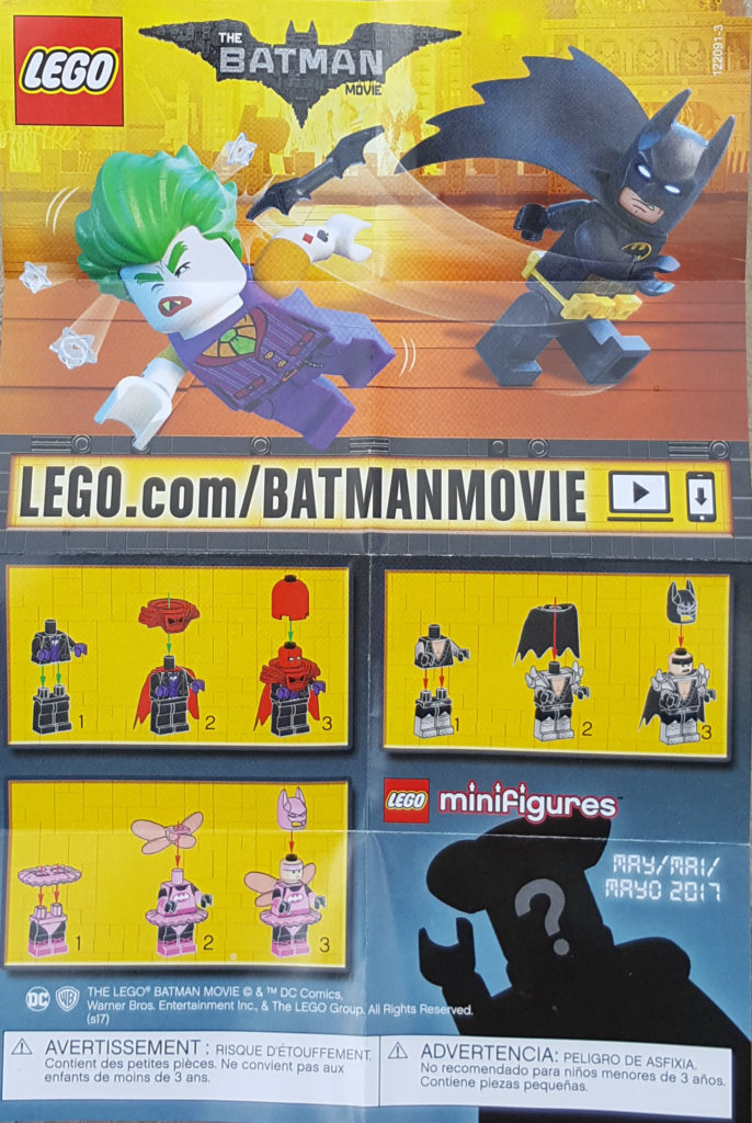 Review Lego Batman Movie Minifigure Series Jay S Brick Blog