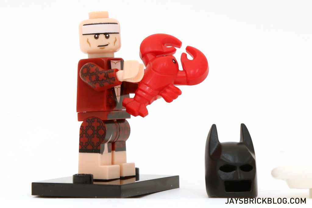 LEGO NEW BATMAN MINIFIGURE SWIM SUIT LEOTARD PATTERN LIGHT FLESH PANTS LEGS