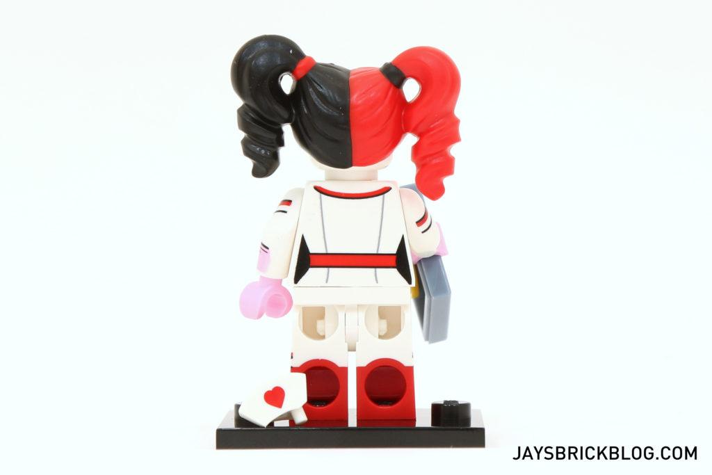 New LEGO Minifigure LEGS White with Red Boot Nurse Harley Quinn Batman Movie