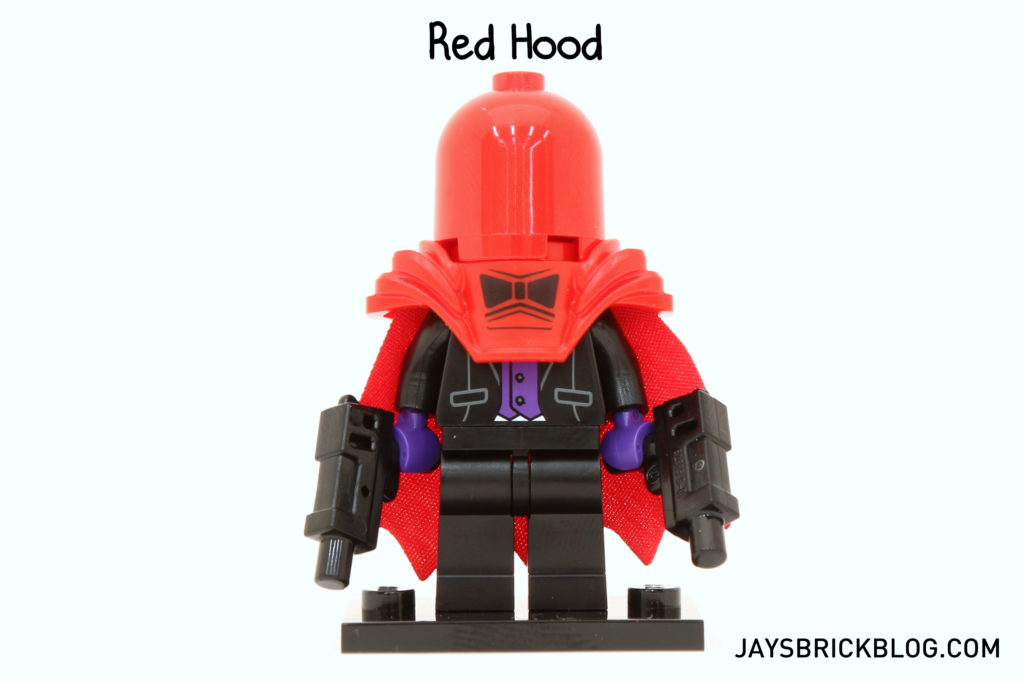 Lego Minifig Shoulder Bag x 1 Red Brown for Minifigure