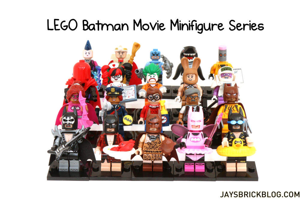 Review: LEGO Batman Movie Minifigure Series