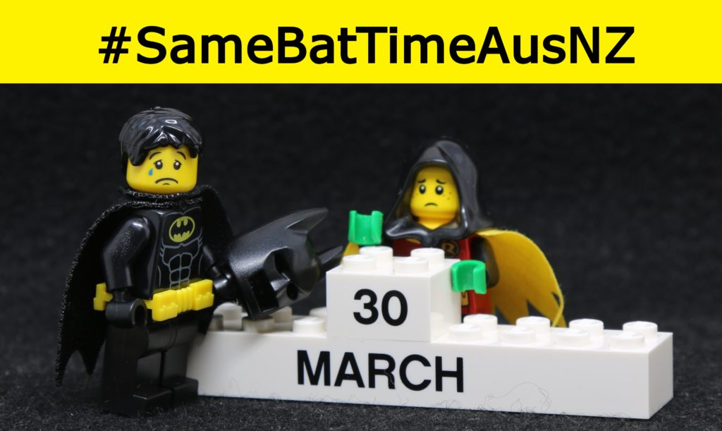 It's time to demand for release date equality for The LEGO Batman Movie in Australia & New Zealand #SameBatTimeAusNZ