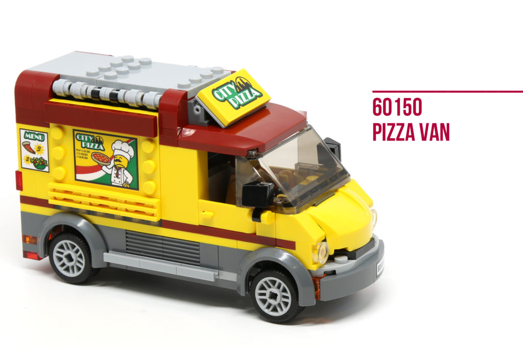 Review: LEGO 60150 Pizza Van
