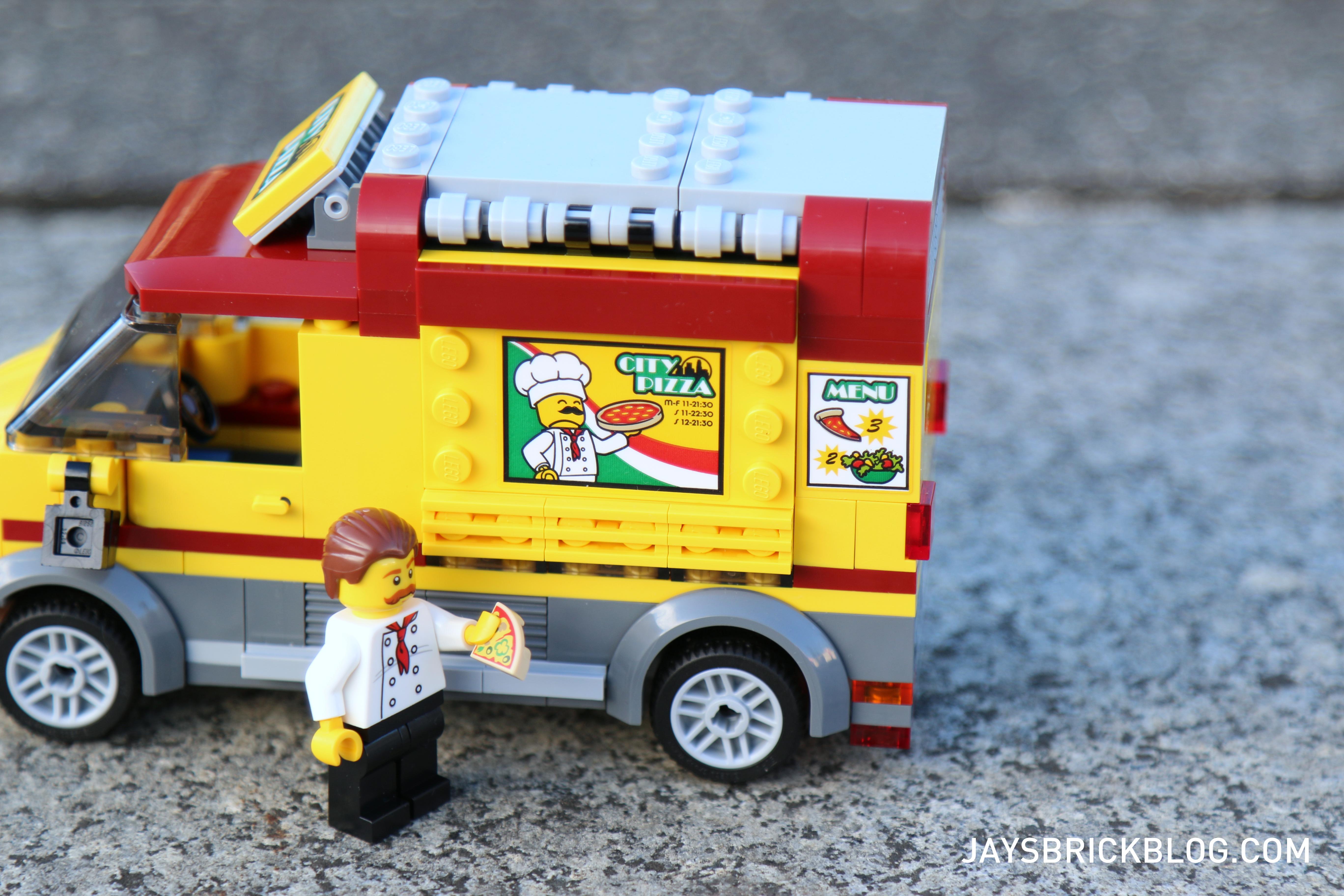 Review Lego 60150 Pizza Van Jays Brick Blog