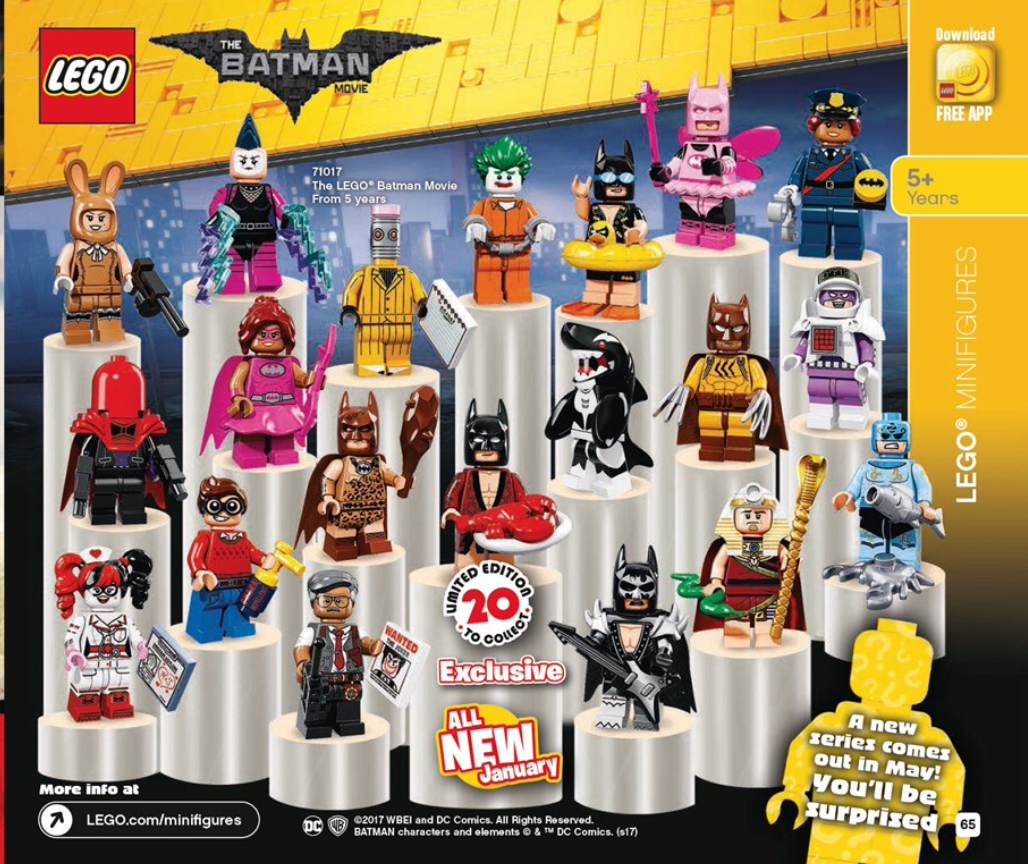lego batman minifigures 2017 - photo #3
