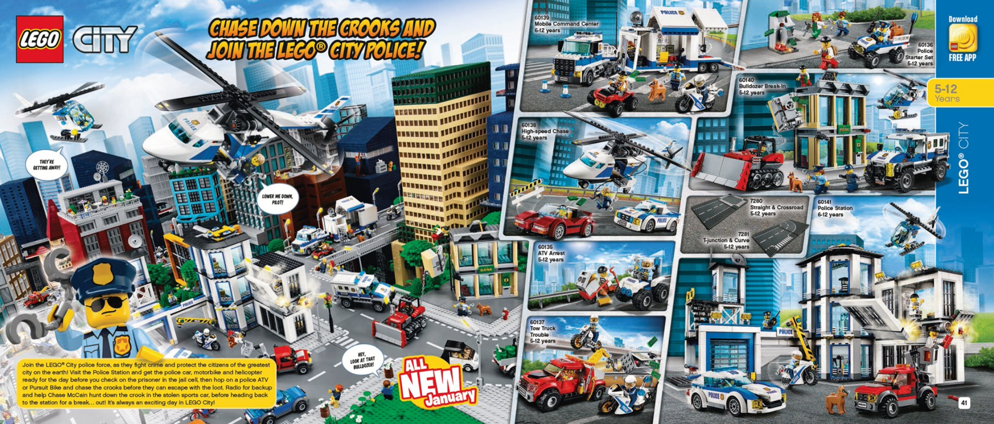 Australian Lego Release Dates First Half Of 2017 Sets January June 60141 City Police Station