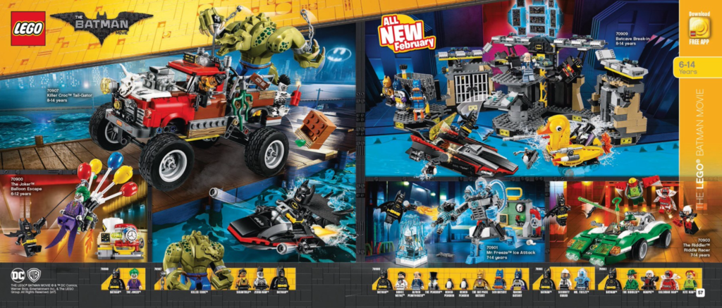 Australian LEGO Release Dates – First Half of 2017 sets (January – June)