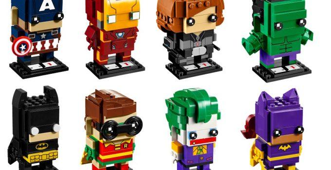 LEGO BrickHeadz Series 1 Revealed!