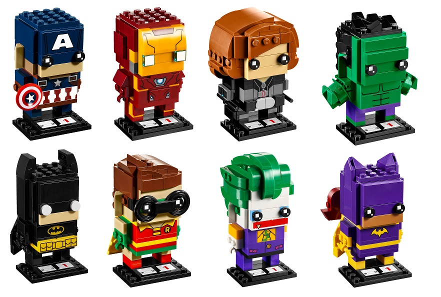 LEGO BrickHeadz Series 1 Revealed!