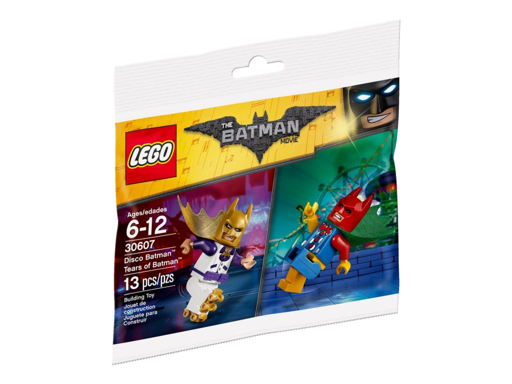 Disco Batman & Tears of Batman polybag promotion now live