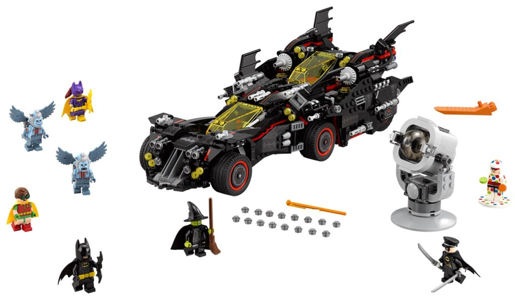 LEGO 70917 The Ultimate Batmobile blows every other Batmobile out of the water