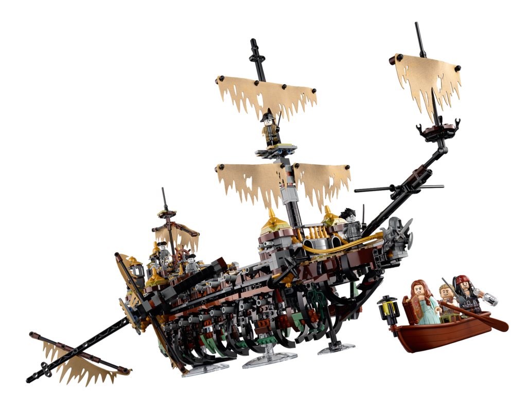 Shiver me timbers! Here's LEGO 71042 The Silent Mary from POTC: Dead Man Tell No Tales