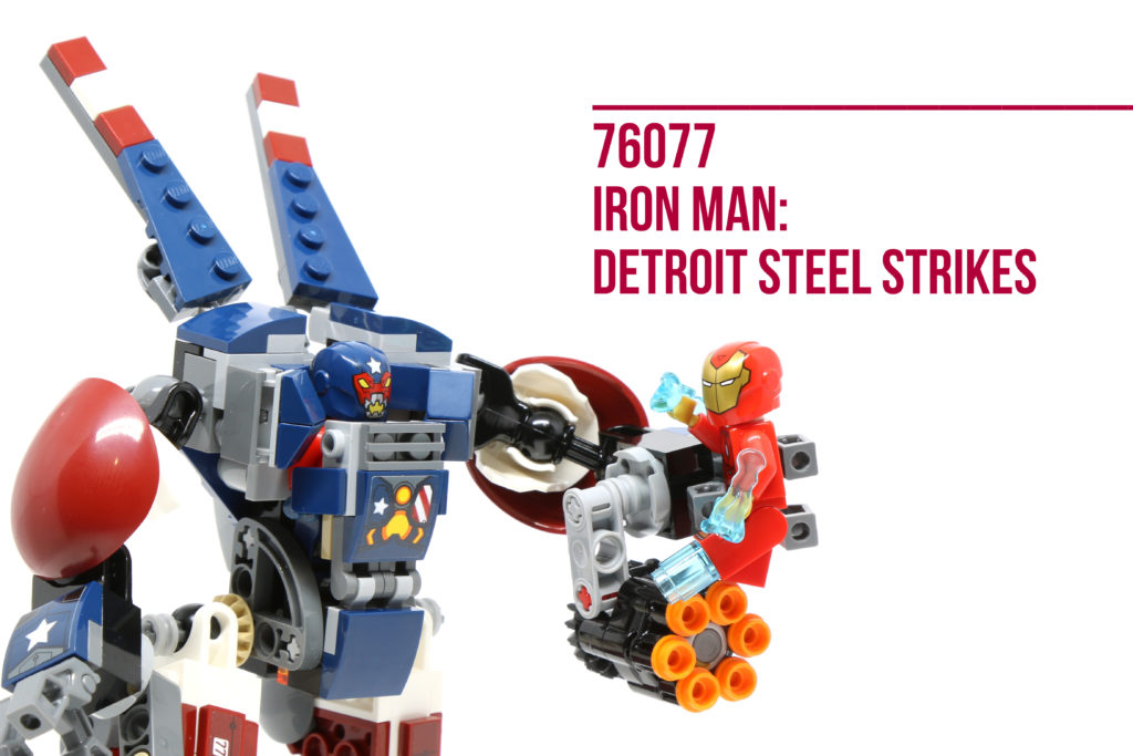 Review: LEGO 76077 Iron Man: Detroit Steel Strikes