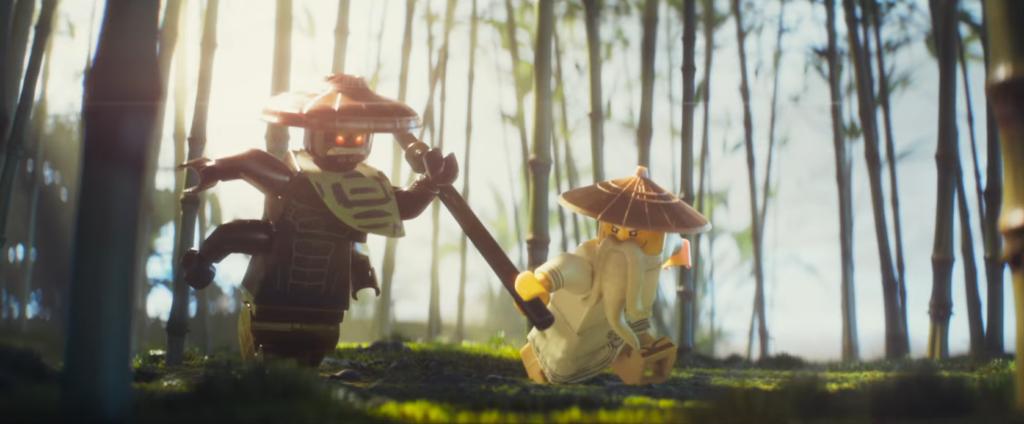 Ninja Vs Samurai Fight The LEGO Ninjago Movie...