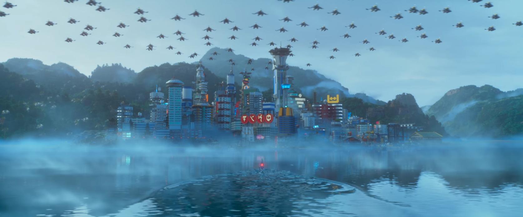 Lego Movie Building Scene