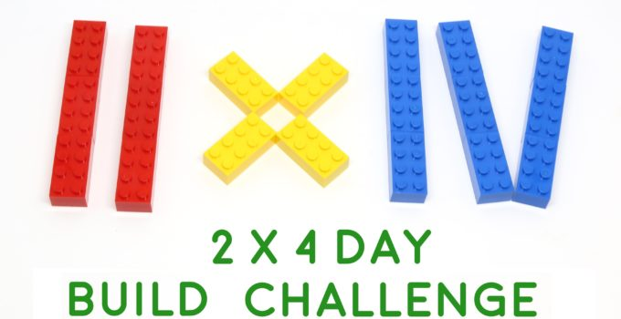 Join the 2 x 4 Day LEGO Build Challenge and win some awesome prizes!