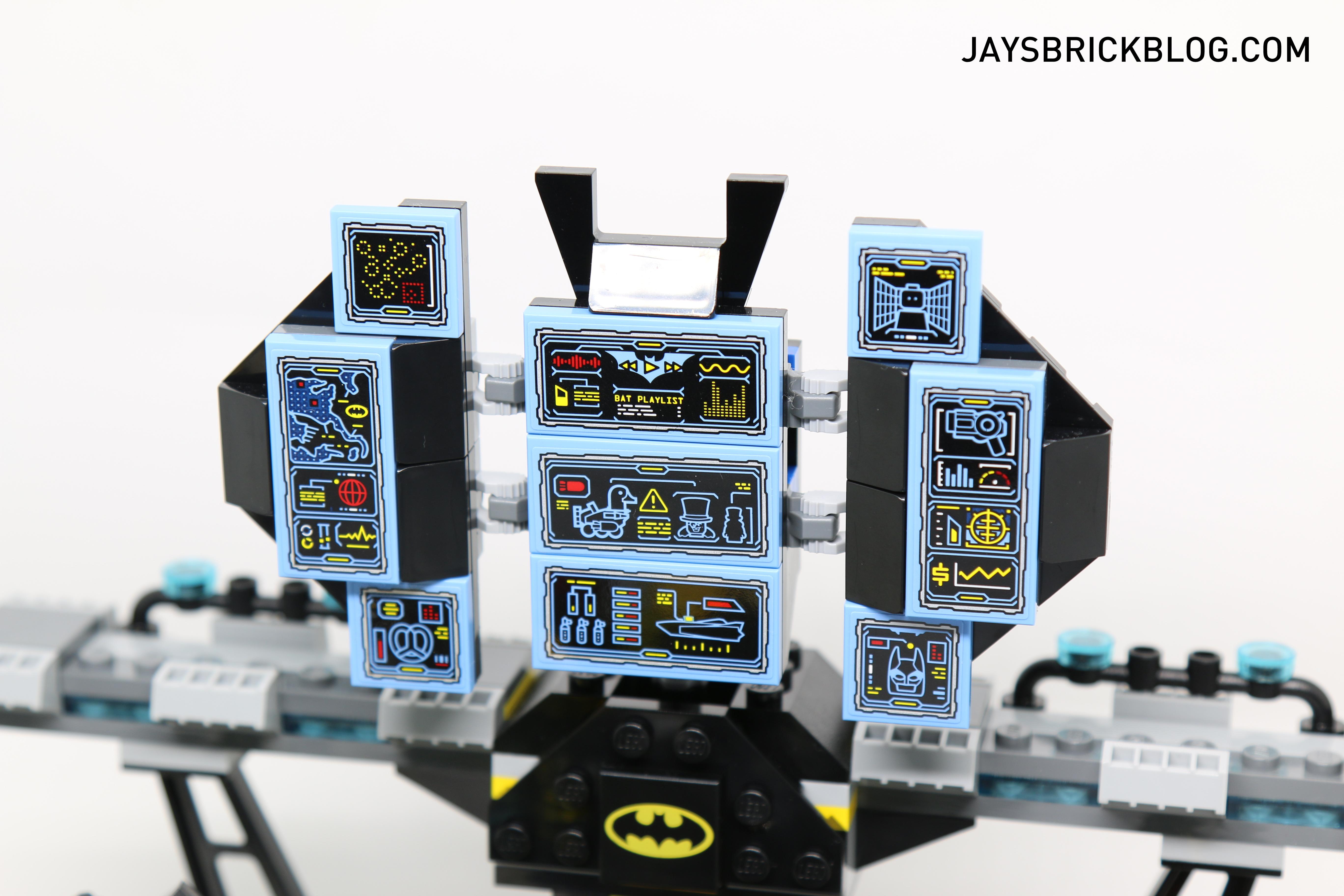 Lego Batcave Stickers Bahuma Sticker 70909 The Batman Movie Break In Review