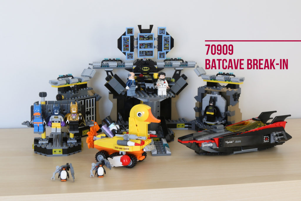 Review: LEGO 70909 Batcave Break-In
