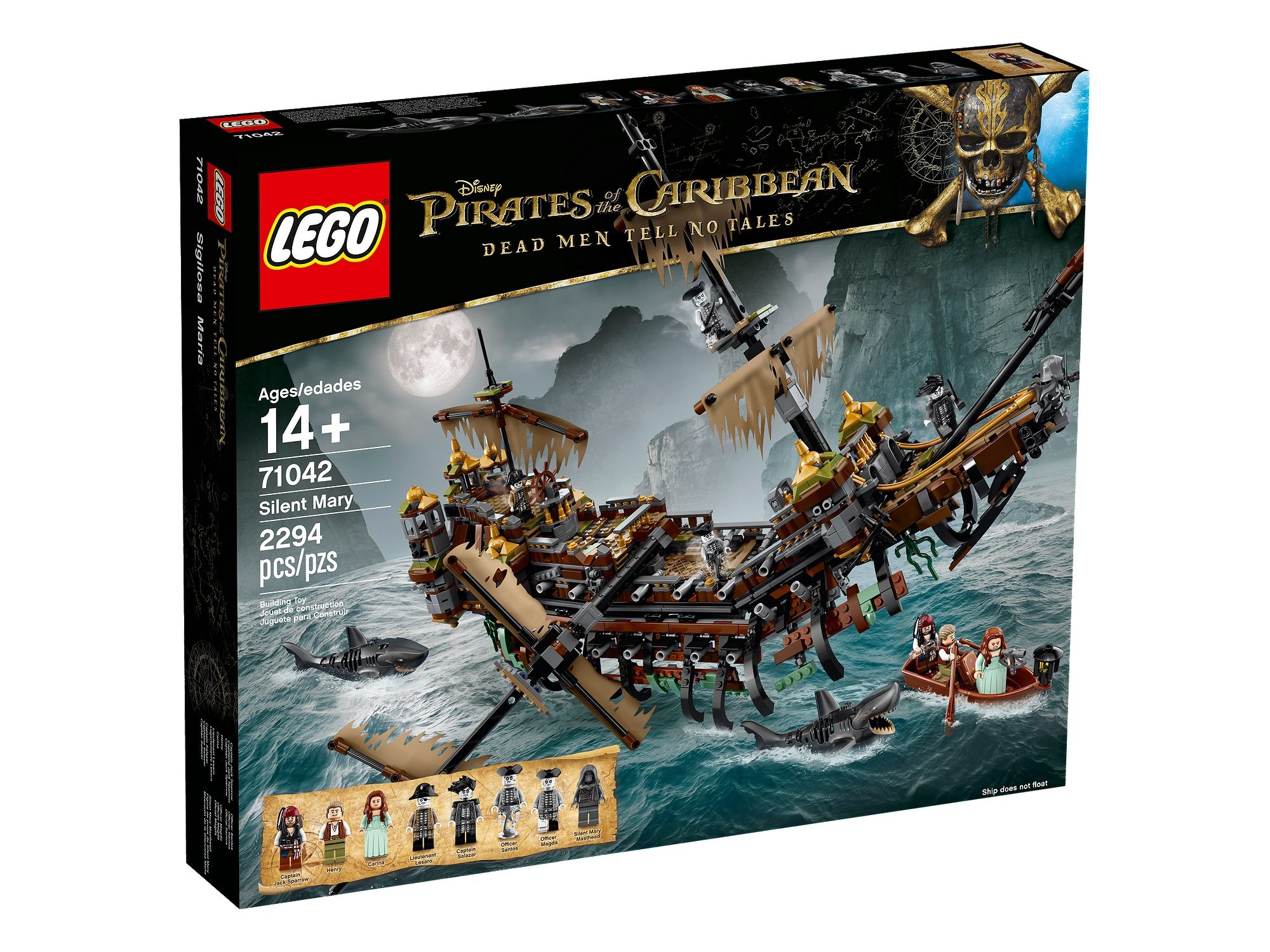 Sale On Legos New Potc Pirate Ship 71042 The Silent Mary Now On Sale For Lego Vips