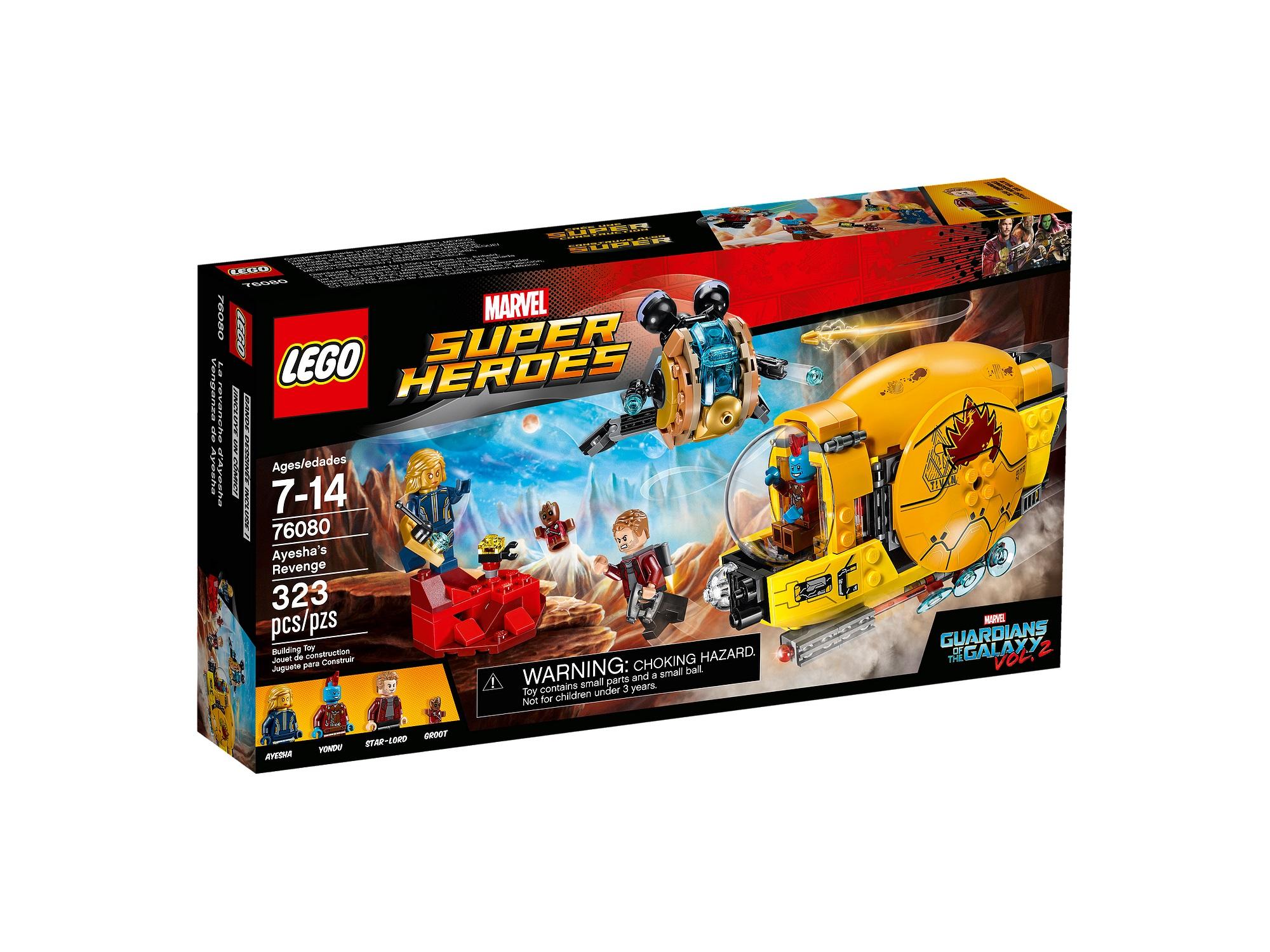 Review Lego 76080 Ayesha S Revenge