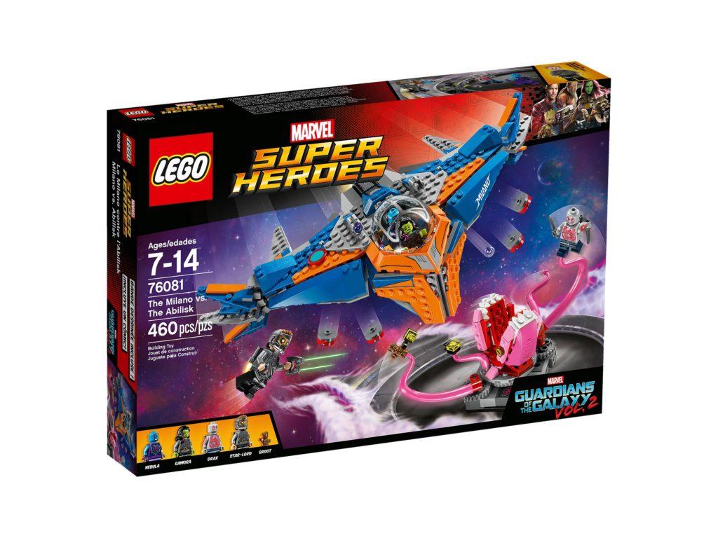 Review Lego 76081 The Milano Vs The Abilisk Jay S Brick