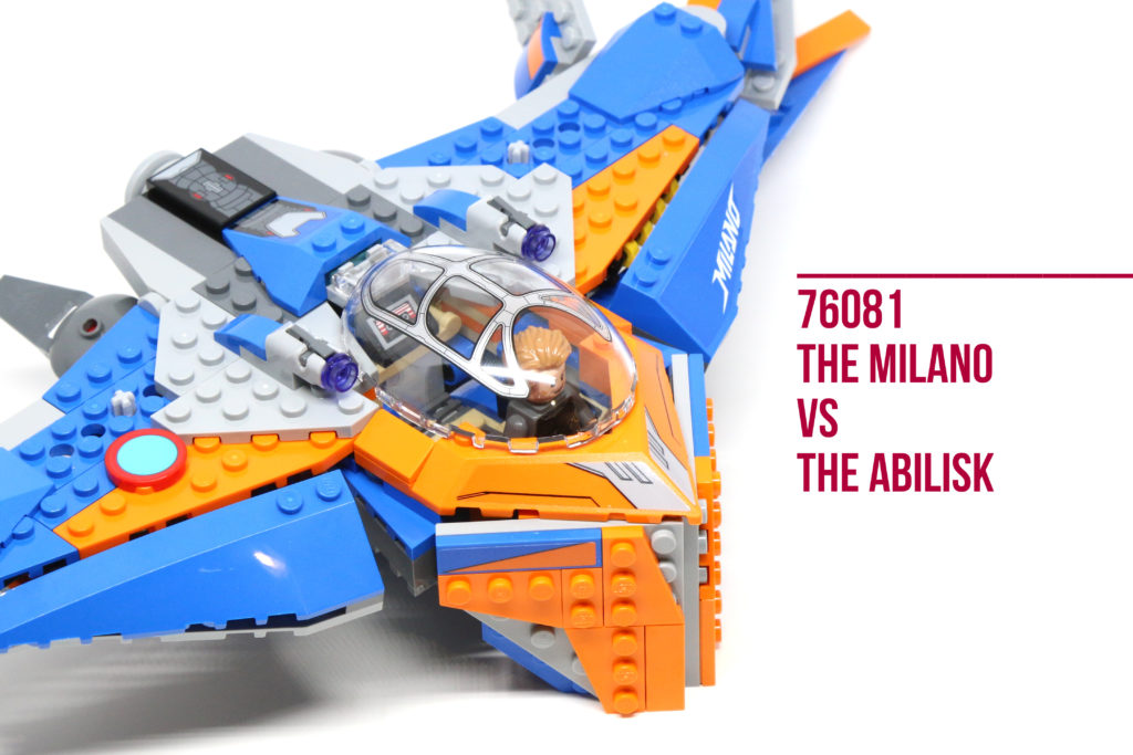 Review: LEGO 76081 The Milano vs The Abilisk