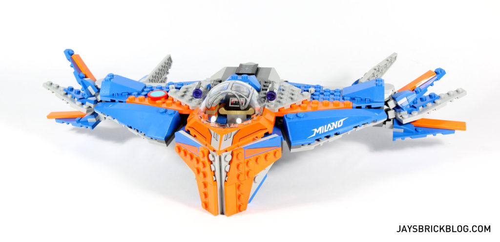 Review: LEGO 76081 The Milano vs The Abilisk – Jay's Brick Blog