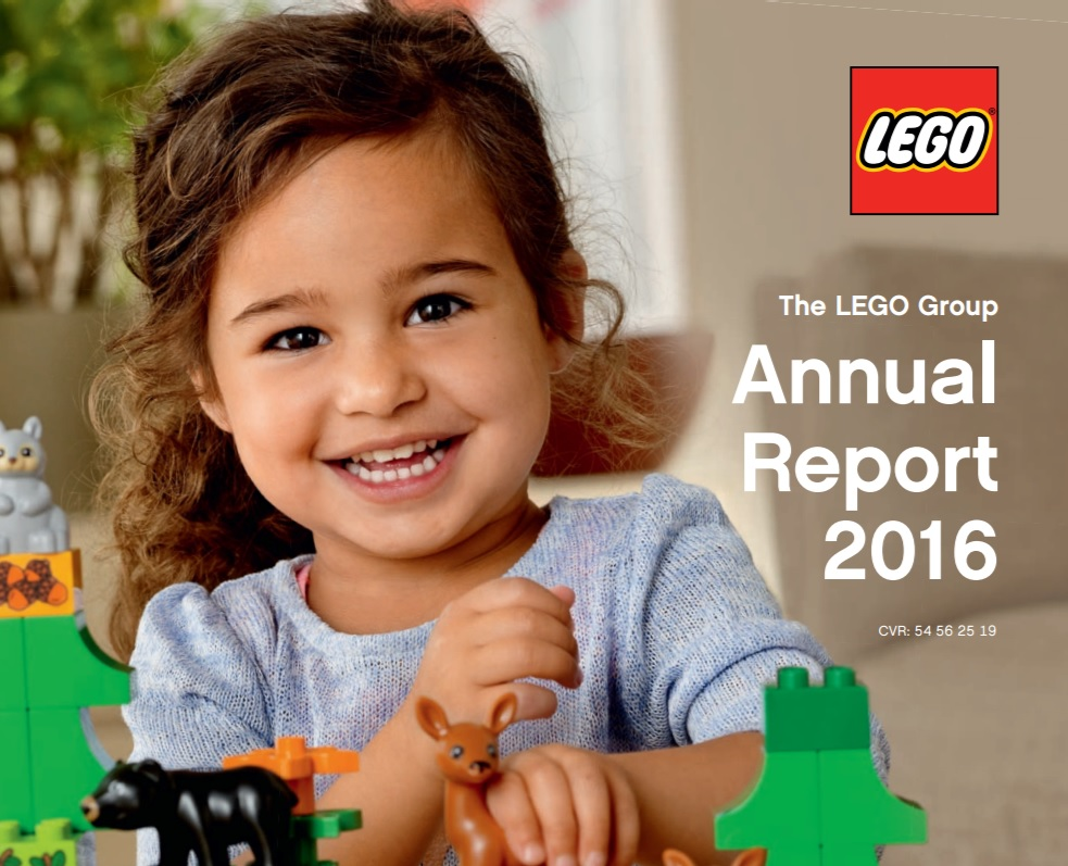 Insights from LEGO's 2016 Annual Report