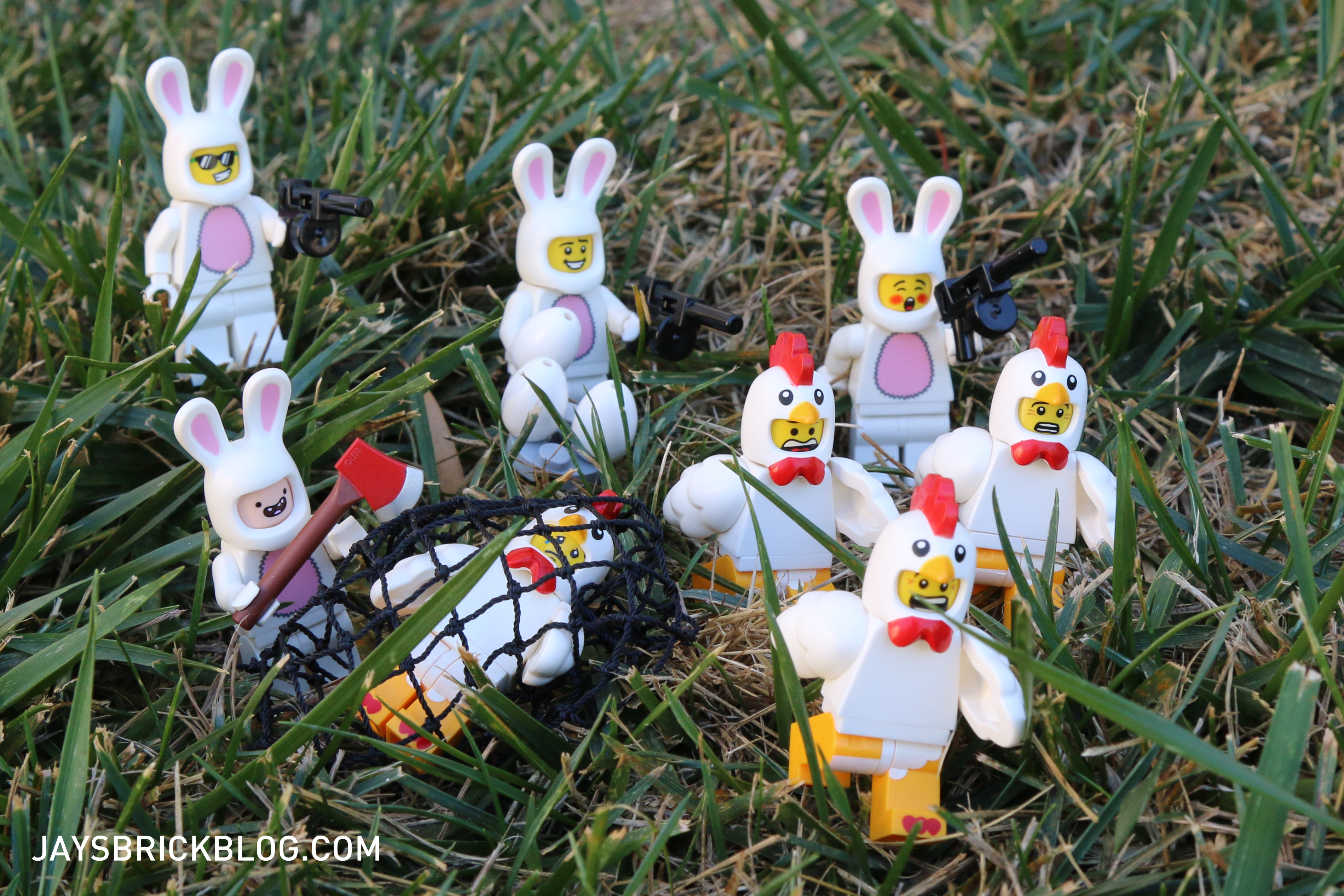 how to set up an easter egg hunt