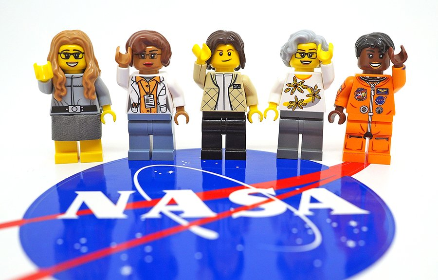 Women of NASA is your next LEGO Ideas set, a celebration of women in STEM