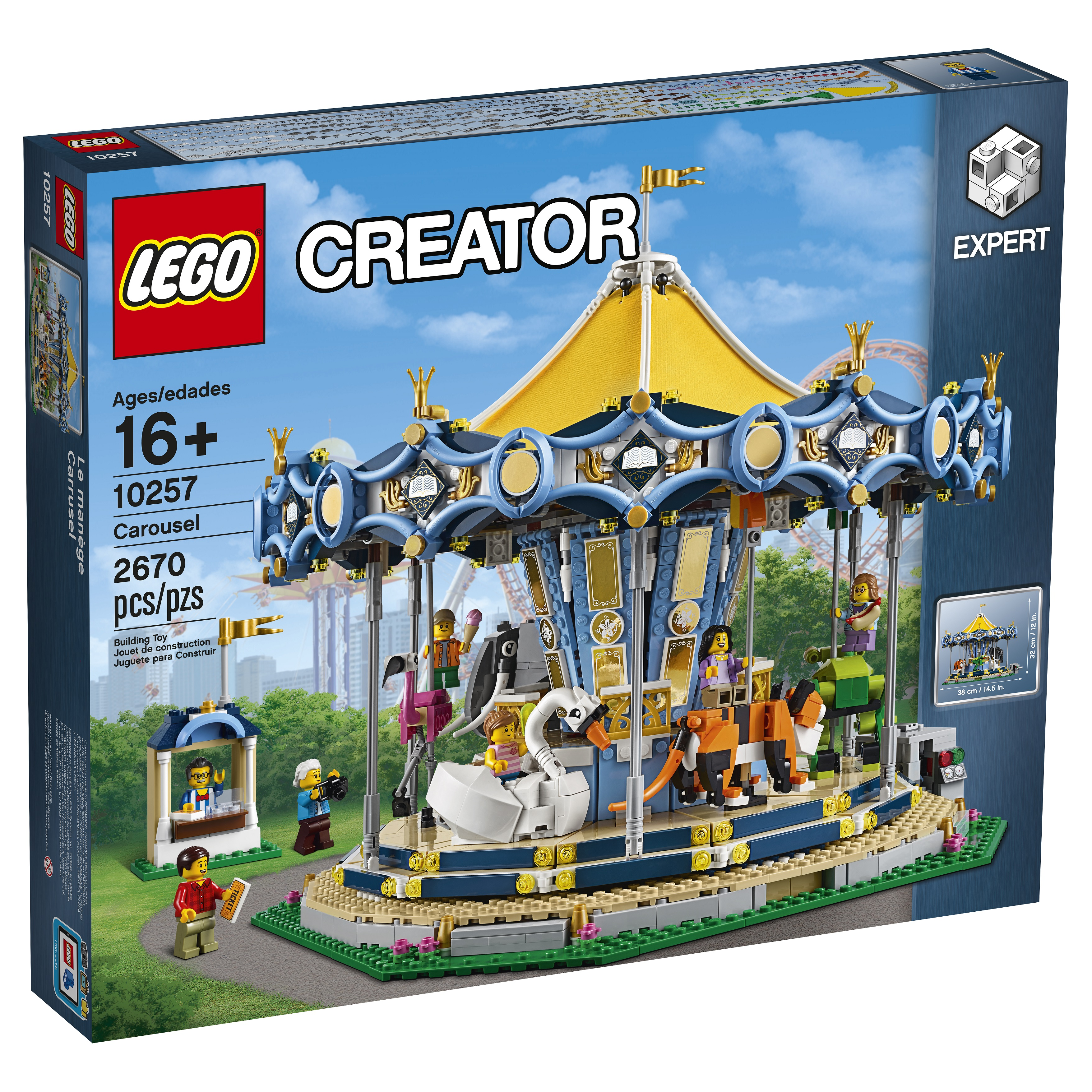 LEGO 10257 Creator Carousel is the latest attraction at the