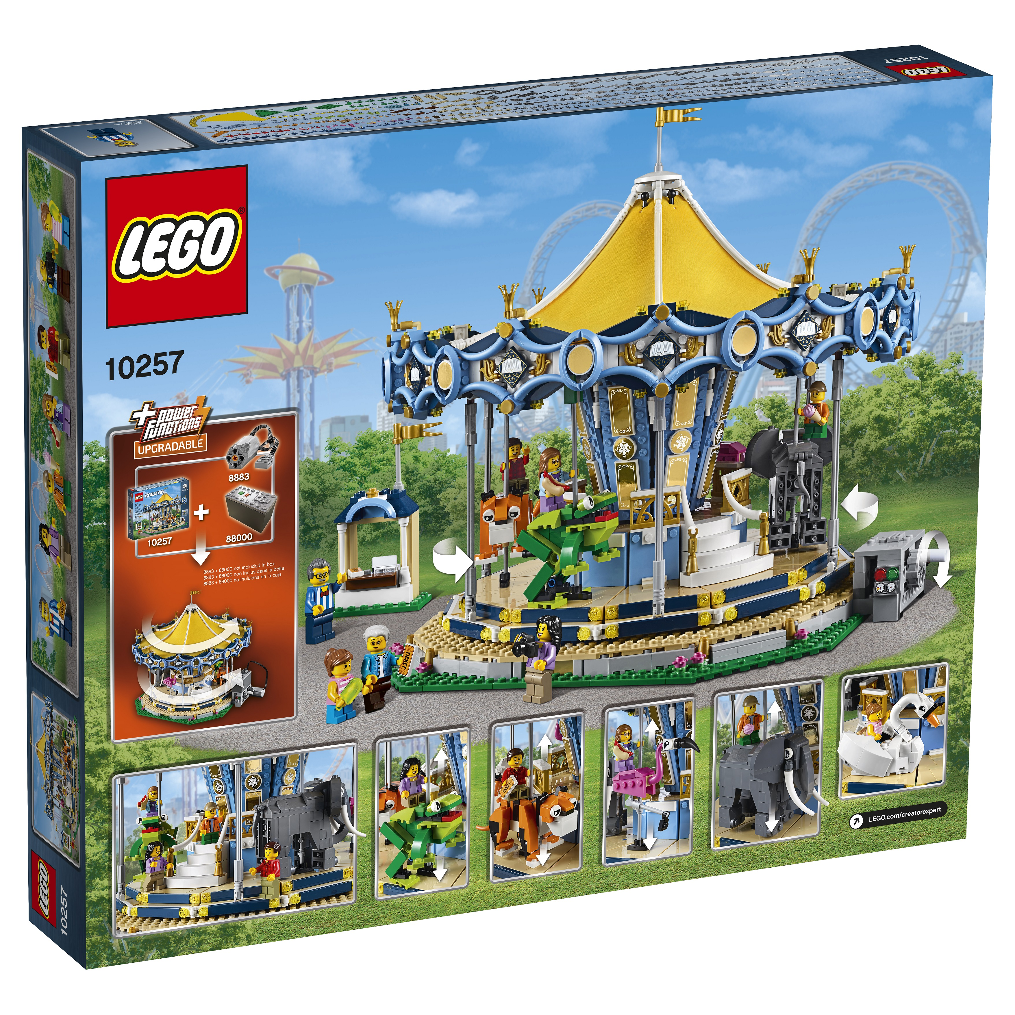 lego 10257 creator carousel is the latest attraction at. Black Bedroom Furniture Sets. Home Design Ideas