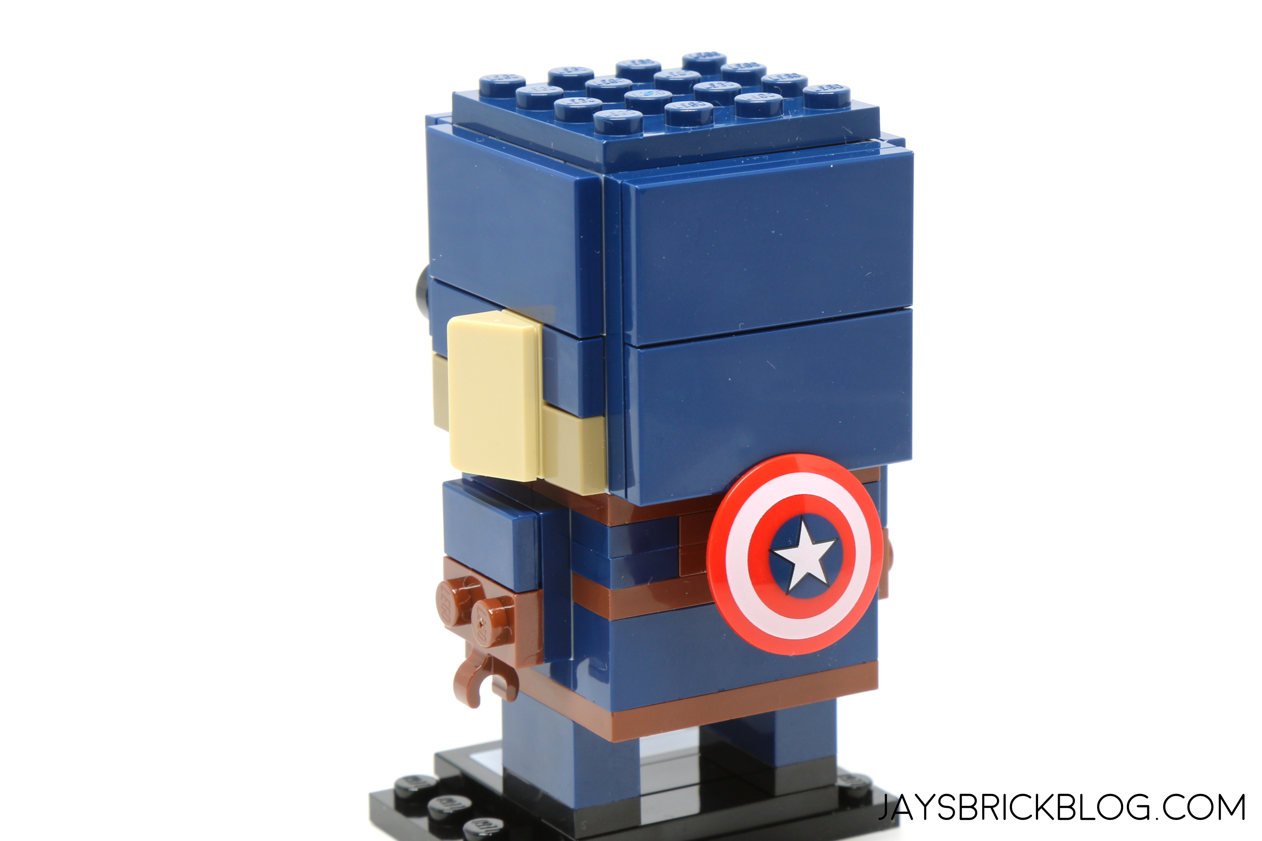 Review lego marvel brickheadz series 1 41589 41590 41591 41592 - Lego capitaine america ...