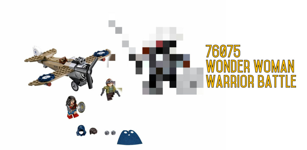 Spoiler Warning! LEGO 76075 Wonder Woman Warrior Battle photos unveiled