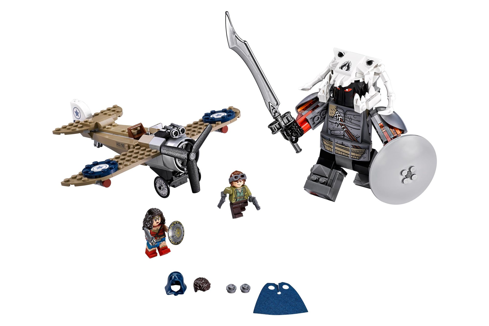 Spoiler Warning! LEGO 76075 Wonder Woman Warrior Battle ...