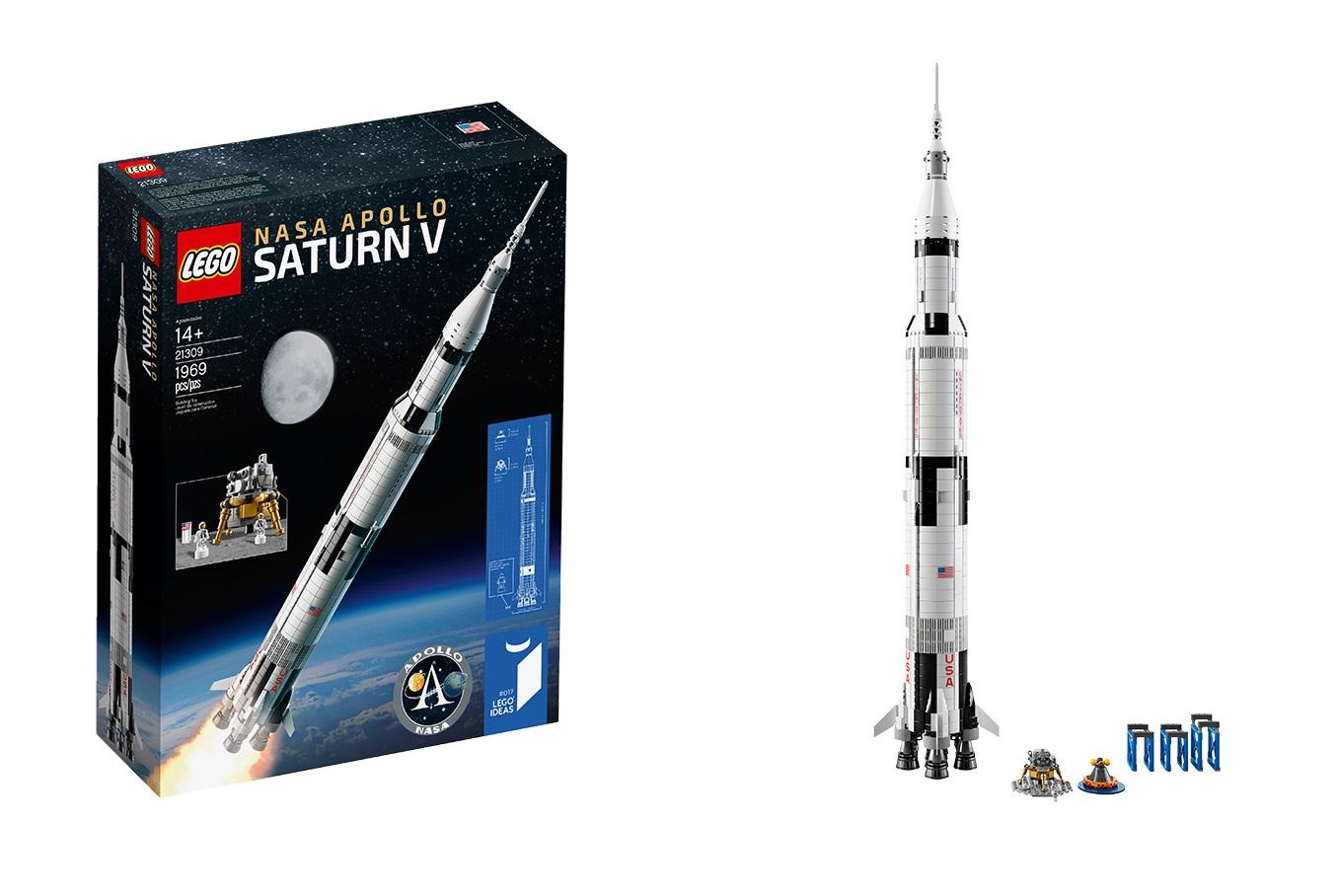 Blast off with LEGO Ideas 21309 NASA Apollo Saturn V!