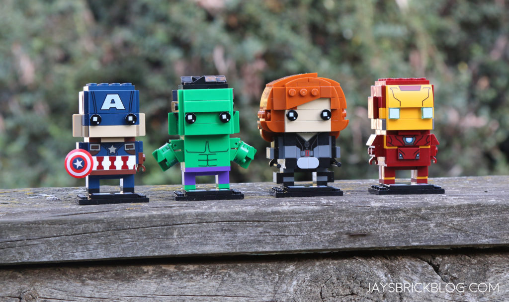 Review: LEGO Marvel Brickheadz Series 1 (41589, 41590, 41591, 41592)