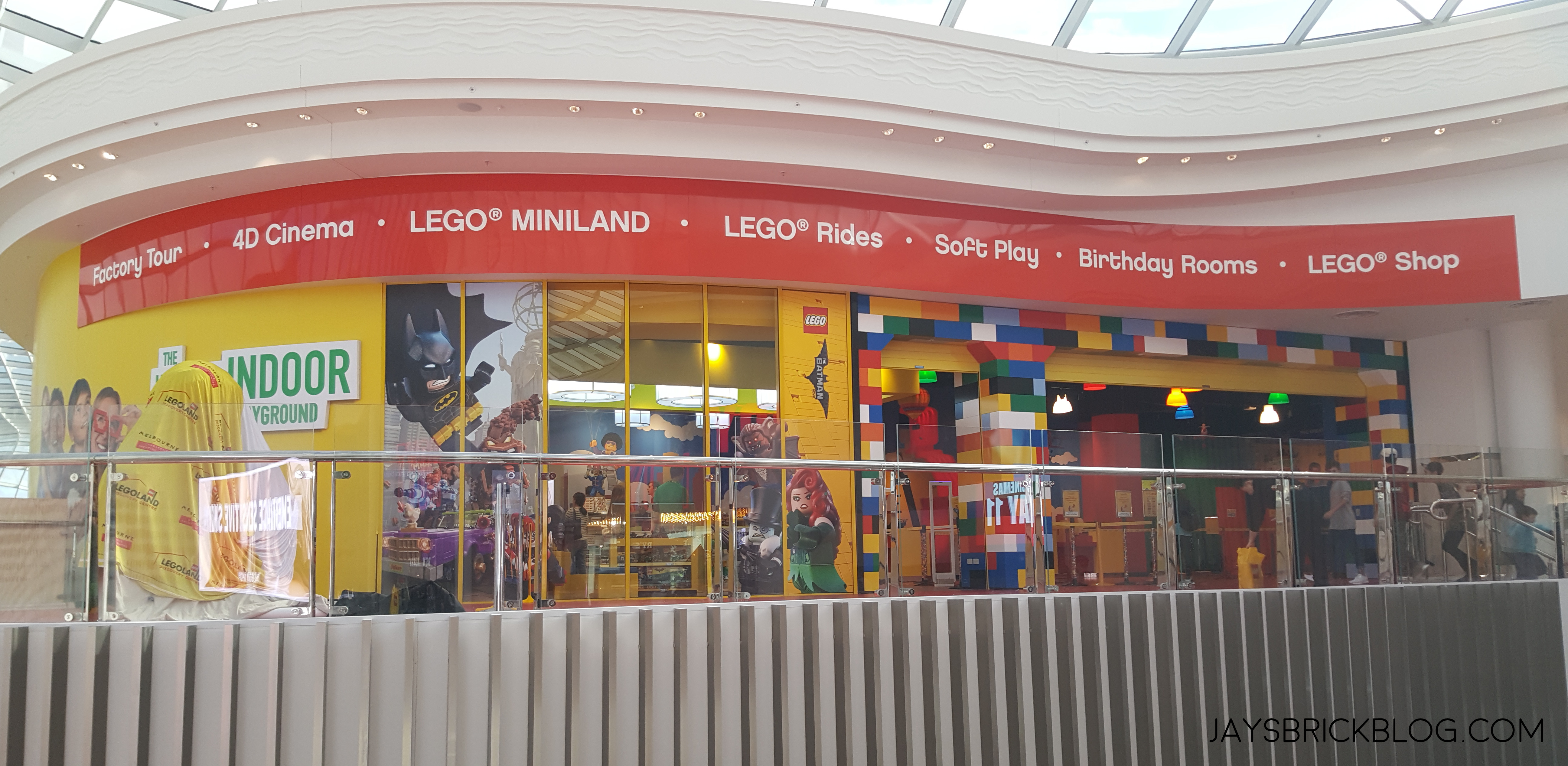 Checking out the LEGO Shop at the Legoland Discovery ...