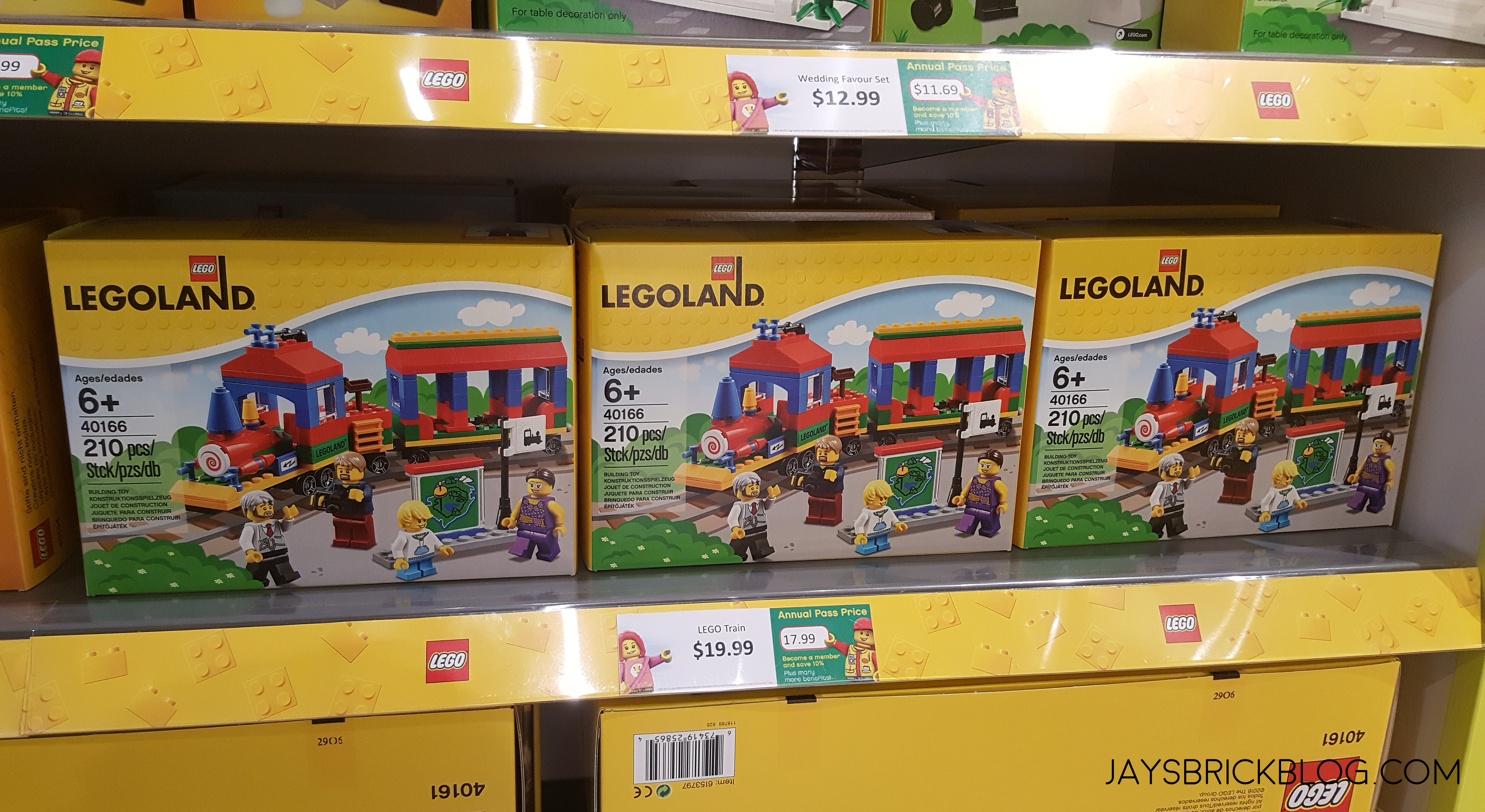 Checking Out The Lego Shop At The Legoland Discovery