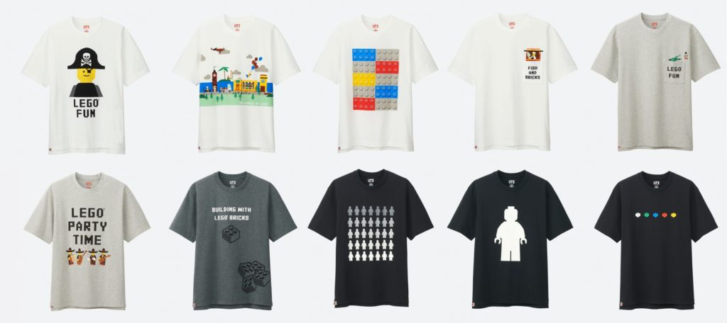 Review Uniqlo Lego Collection Season 2 T Shirts Jay S