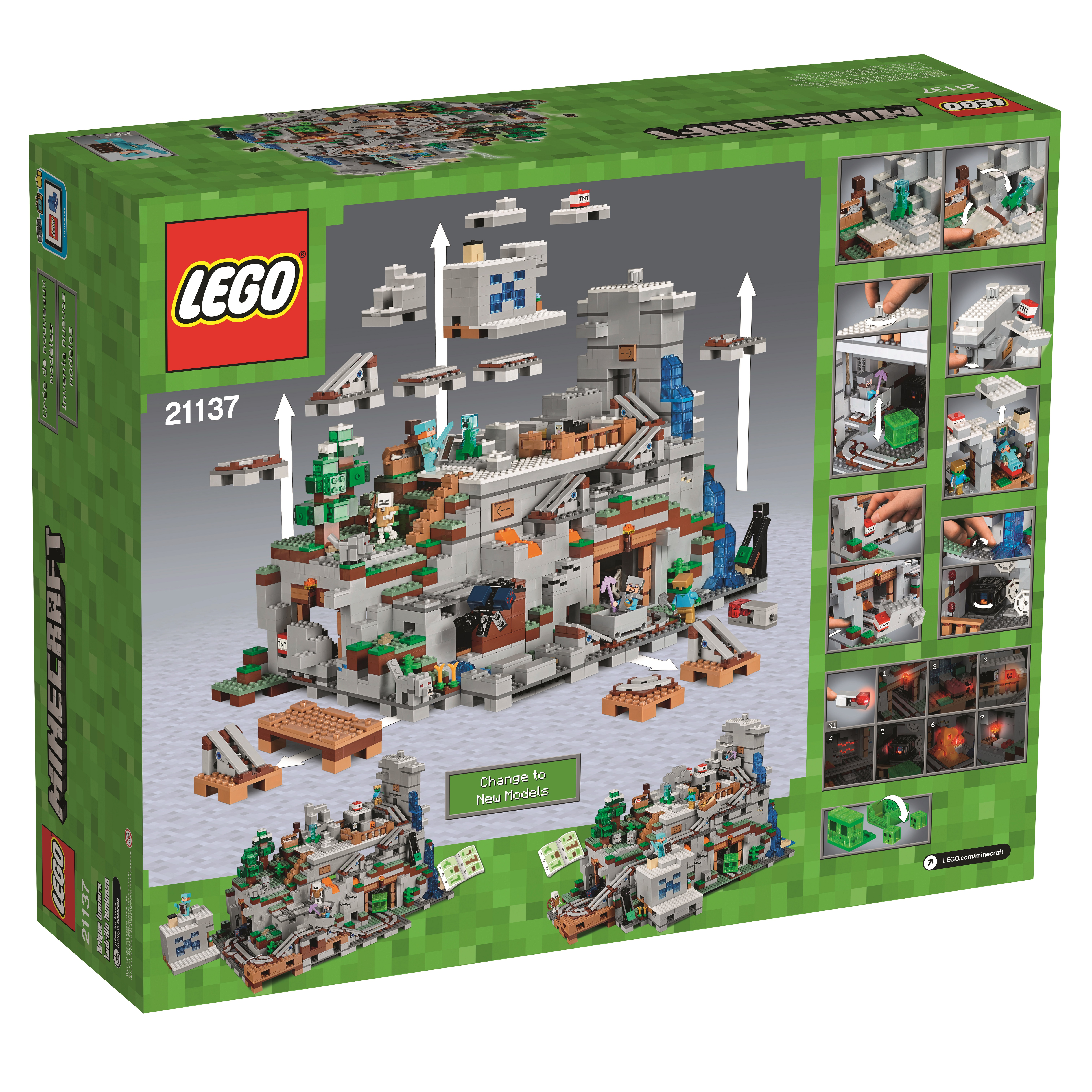 10 The Mountain Cave is the biggest Minecraft LEGO set yet