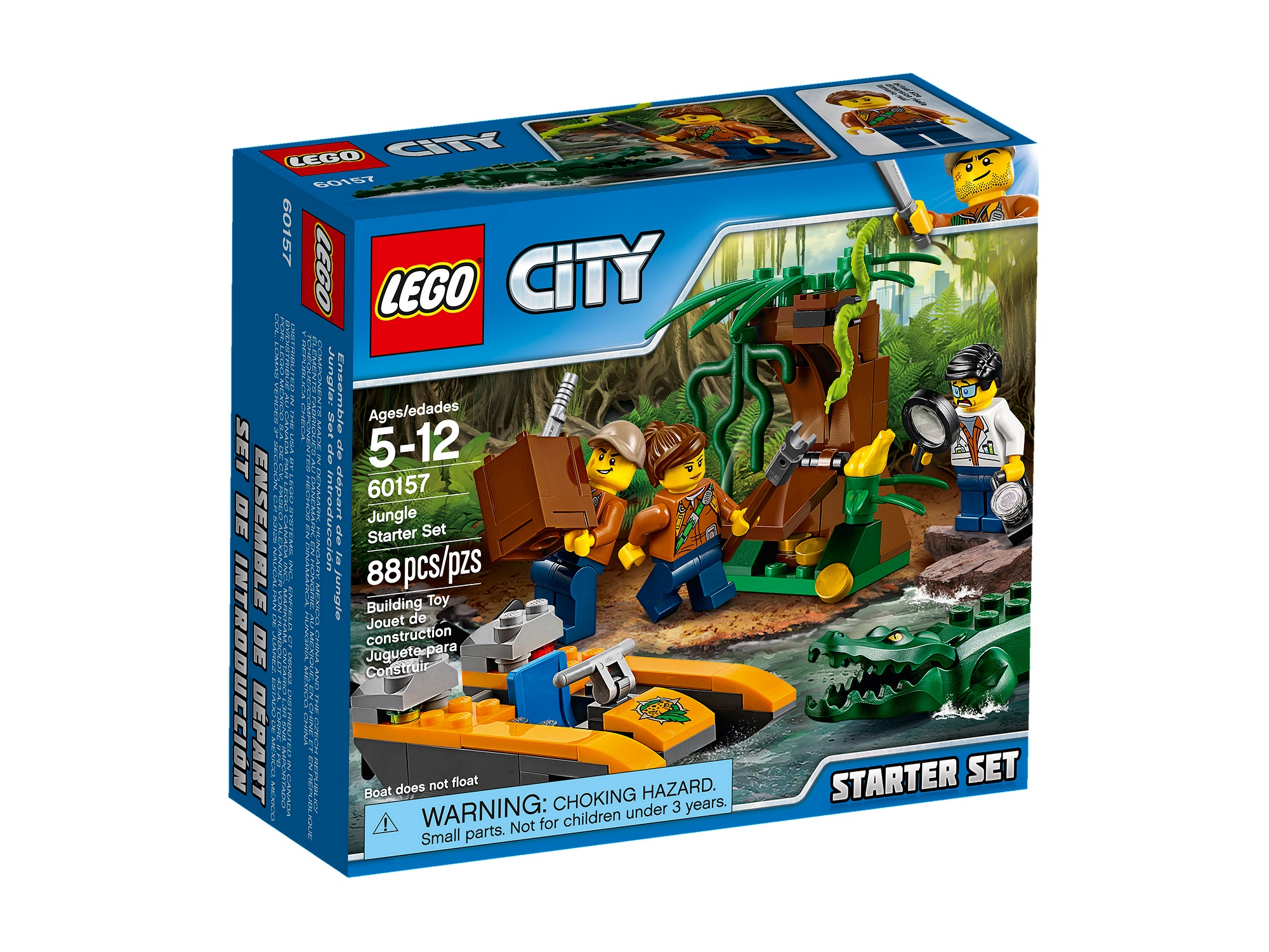 Preview: LEGO City Jungle 2017 sets