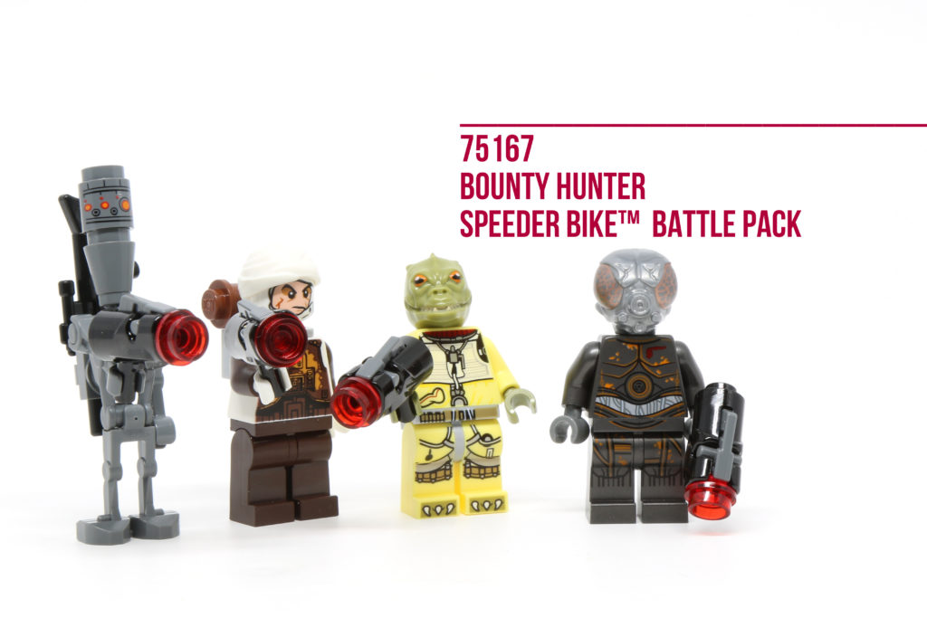Review: LEGO 75167 Bounty Hunter Speeder Bike Battle Pack