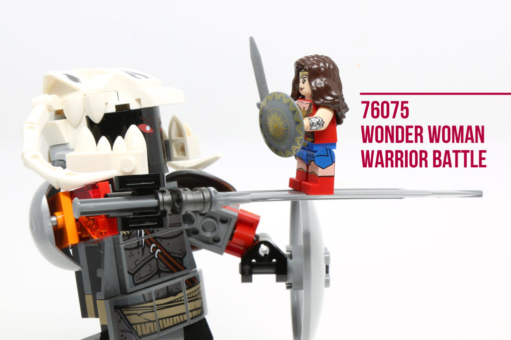 Review: LEGO 76075 Wonder Woman Warrior Battle