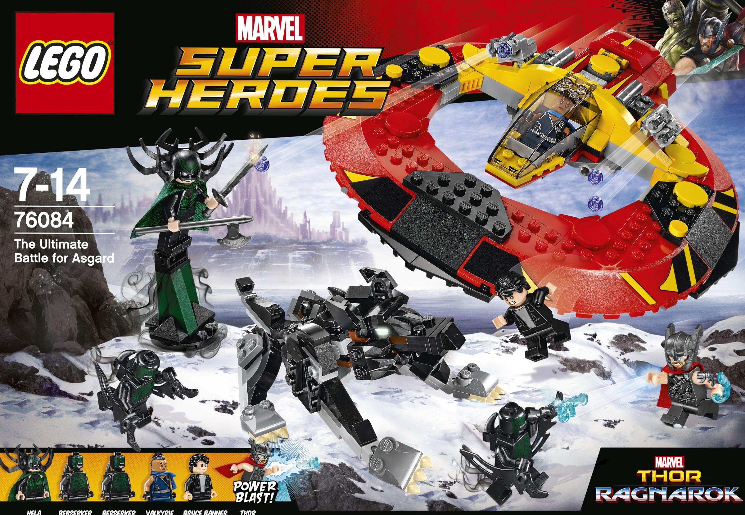 LEGO Thor Ragnarok Sets Revealed