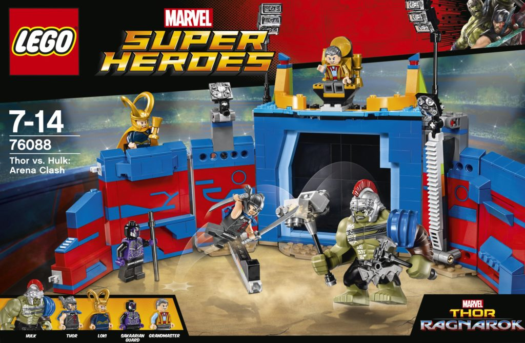 LEGO Thor Ragnarok sets revealed!
