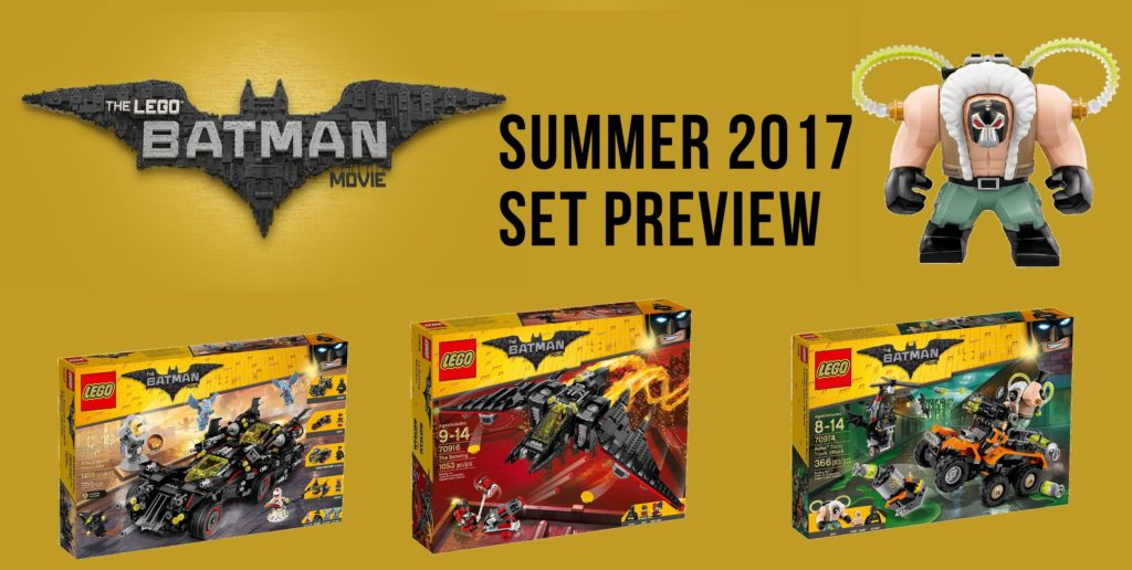 PREVIEW: LEGO Batman Movie Summer 2017 sets