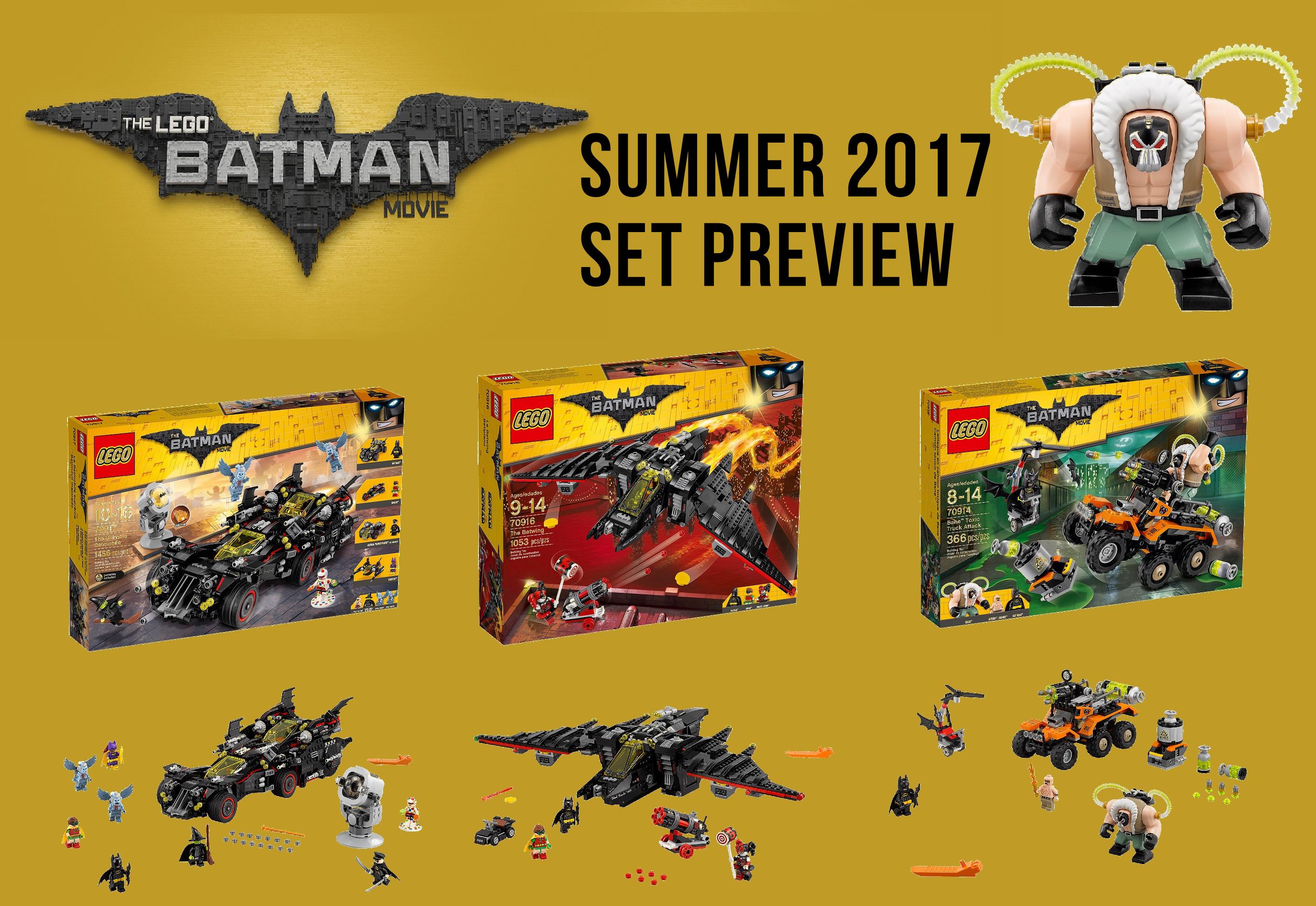 lego batman sets summer 2017