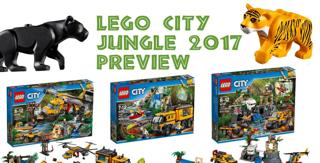 Preview: LEGO City Jungle 2017 sets