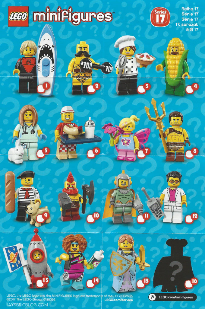 Review Lego Minifigures Series 17